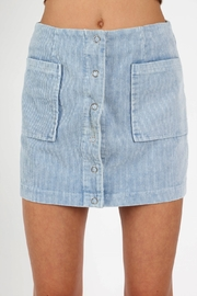 Wild Honey Cordury Mini Skirt - Product Mini Image