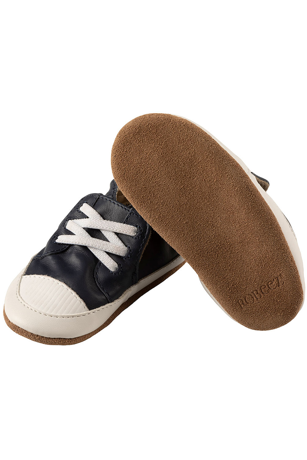 Robeez Corey Soft Soles Baby Shoes - Side Cropped Image