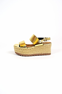 Shoptiques Product: Gold Platform Sandals