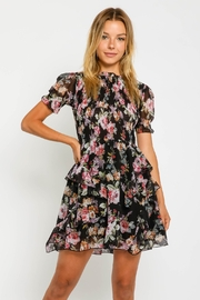 Olivaceous  Corinne Floral Dress - Product Mini Image