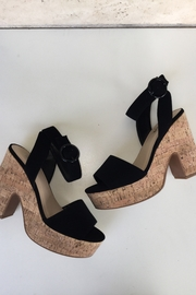 Soda Cork Detail Heel - Front cropped