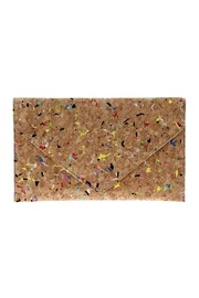 joseph d'arezzo Cork Flake Clutch - Product Mini Image