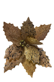 The Birch Tree Cork Poinsettia - Front cropped