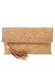 Wild Lilies Jewelry  Cork Tassel Clutch - Product Mini Image