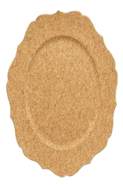 Two's Company Cork Veneer Charger - Product Mini Image