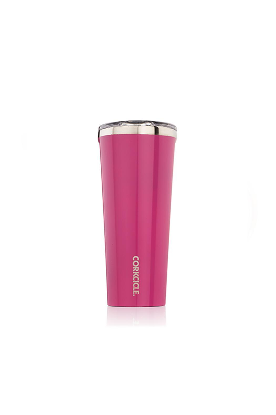 Corkcicle 24oz Pink Tumbler - Front Cropped Image
