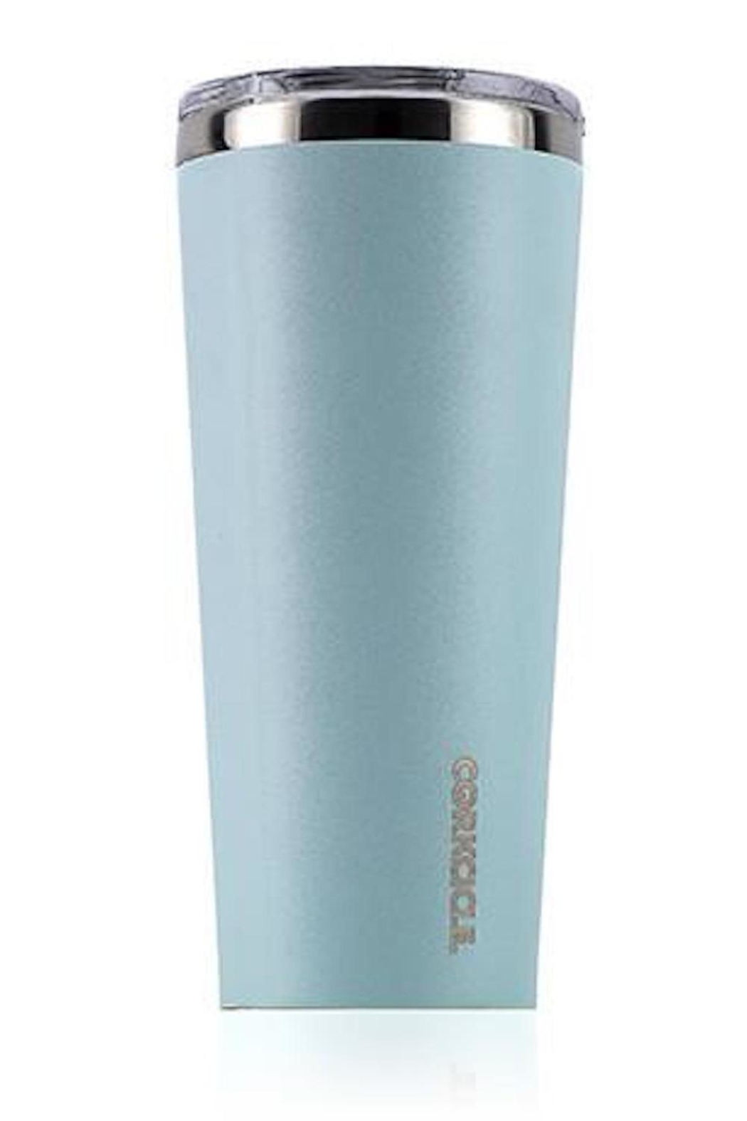 Corkcicle Seafoam Tumbler - Front Cropped Image