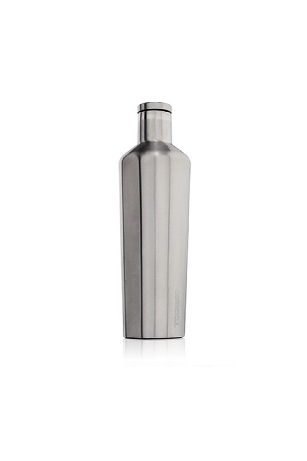 Corkcicle 25oz Steel Canteen - Front Full Image