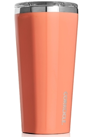Corkcicle 16 Ounce Cute Tumbler - Front full body