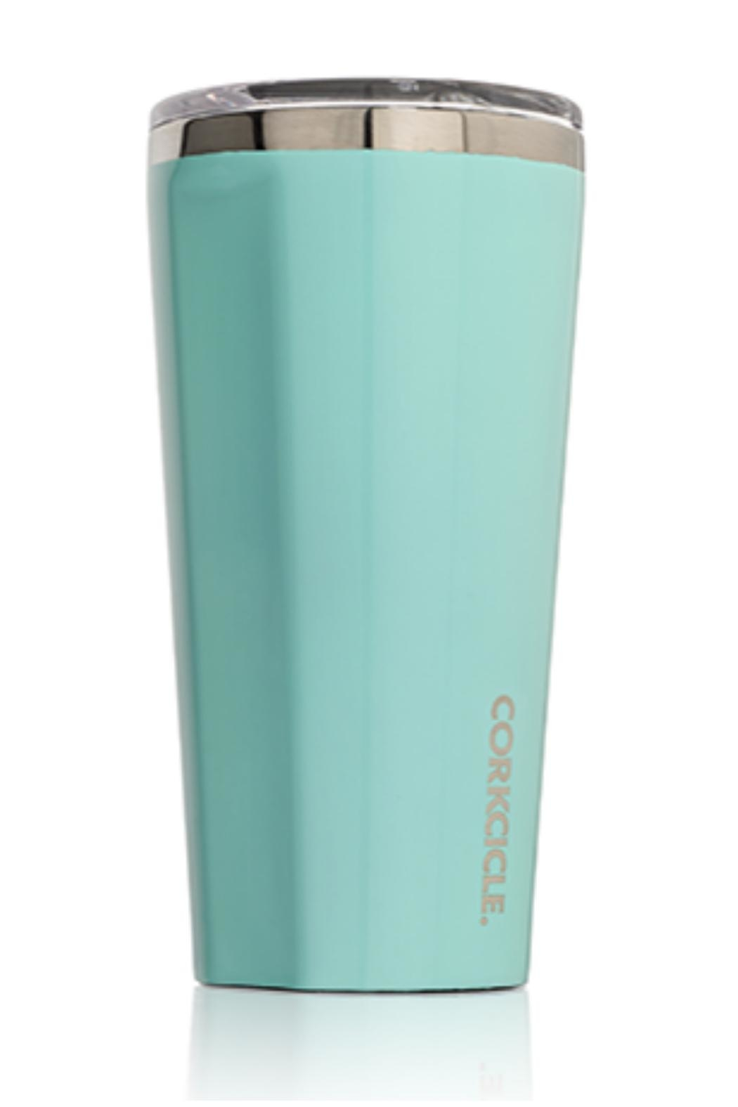Corkcicle 16 Ounce Cute Tumbler - Front Cropped Image
