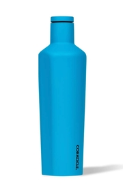 Corkcicle Neon Lights Blue Canteen 25 Oz - Front cropped