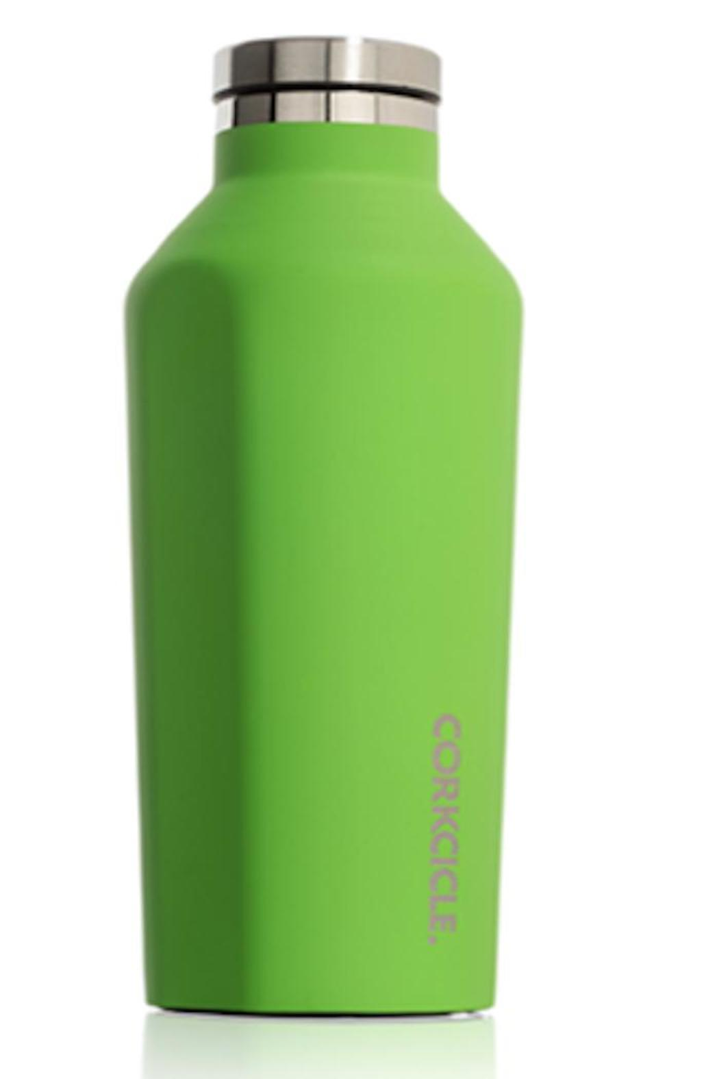 The Corkcicle Vinnebago Is A Wine Canteen That Can: Corkcicle Matte Lime Canteen From Westchester County By