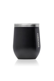 Corkcicle Monogrammed Stemless Wine Glass - Front cropped