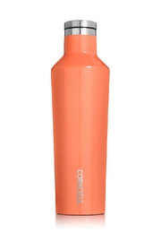 Corkcicle Peach 16oz. Canteen - Front cropped