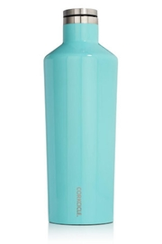 Corkcicle Turqouise Canteen, 60oz. - Front cropped
