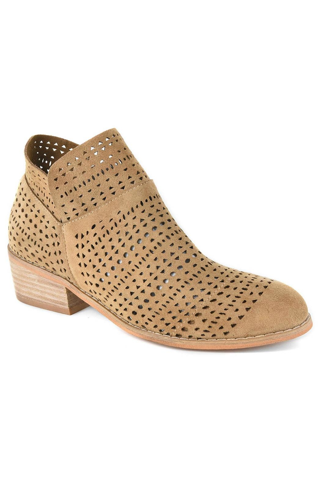 Corky's Shoes Brier Taupe Shoe - Main Image