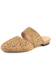 Corky's Shoes Carina Cheetah Slide - Front full body