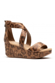 Corky's Shoes Fay Distressed Leopard Sandal - Product Mini Image