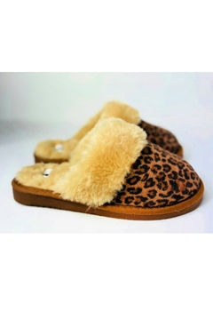 Corky's Shoes Leopard Slippers - Product List Image