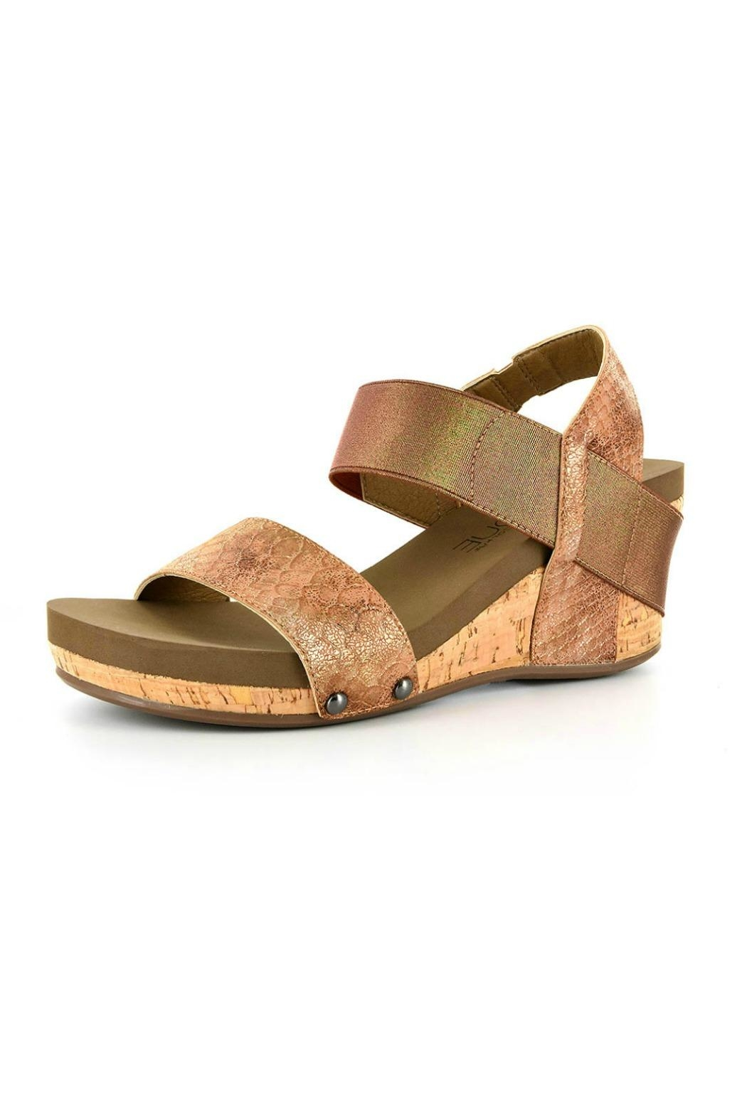 b9d7bb02aad3 Corkys Bandit Wedge Sandal from California by Apricot Lane - Folsom ...