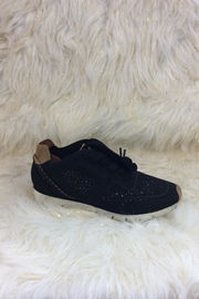 Corkys Black Sneakers - Front full body