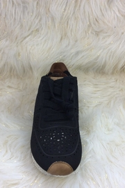 Corkys Black Sneakers - Back cropped