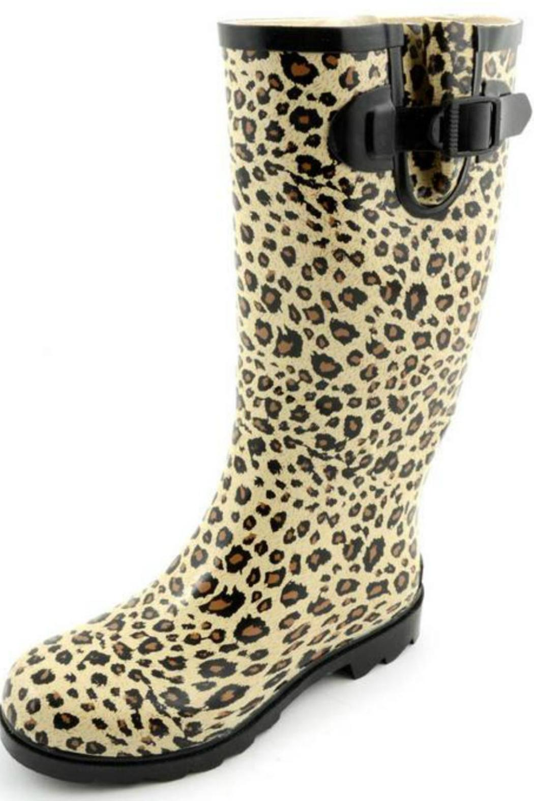 Corkys Cheetah Rain Boots from Wyoming by CrissCross Chaos ...