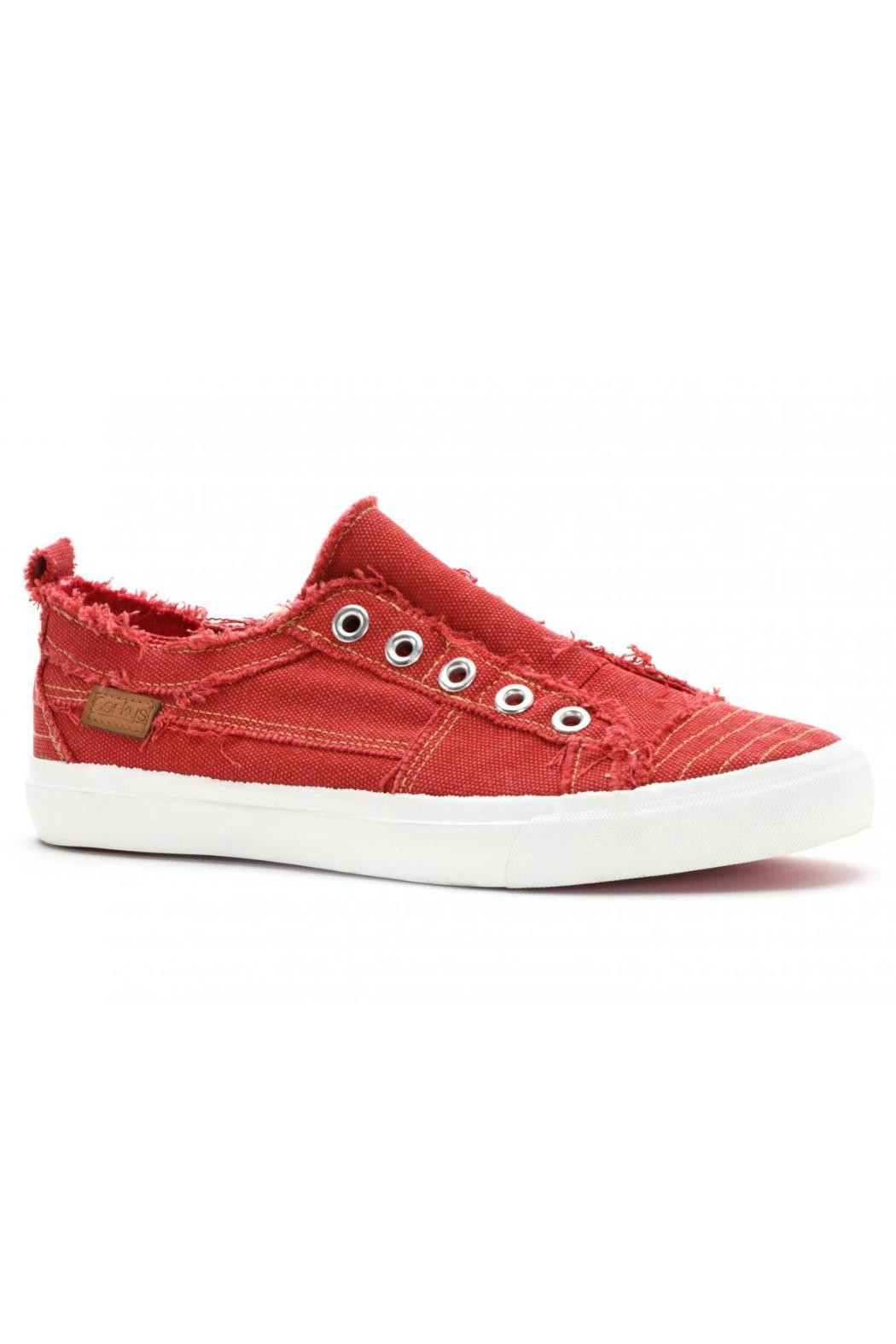 Corkys Red Canvas Shoe - Main Image