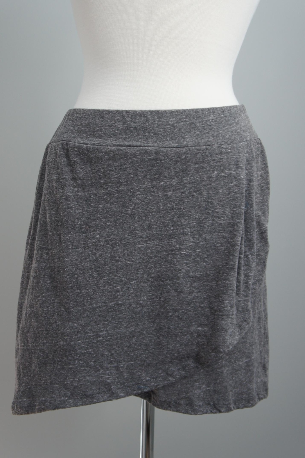 Corner Layered Mini Skirt - Front Cropped Image