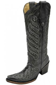 Corral Boots Crystal Inlay Boots - Alternate List Image