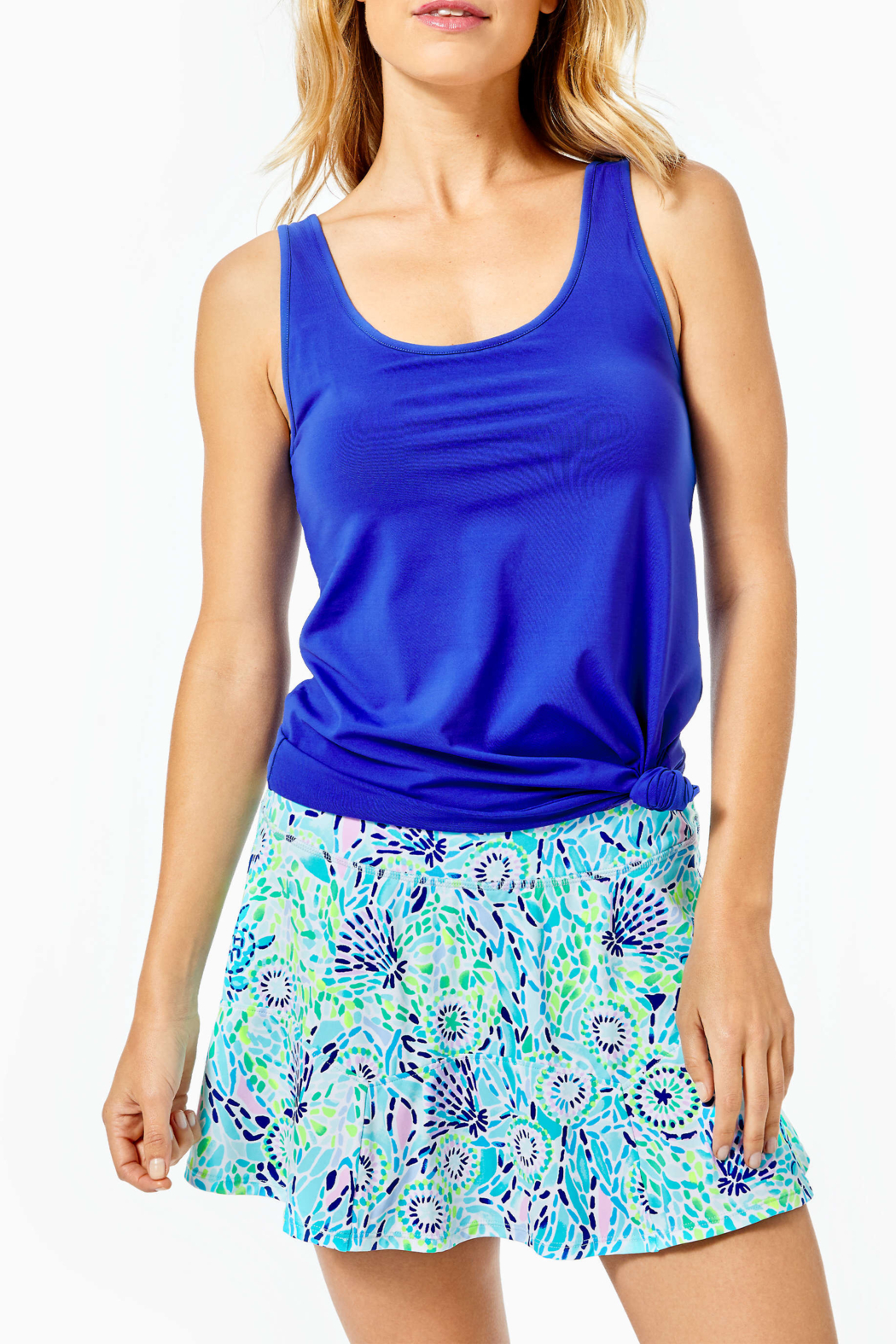Lilly Pulitzer  Corrine Skort UPF 50+ - Front Cropped Image