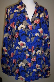 Tyler Boe Corsican Floral Shirt - Front cropped