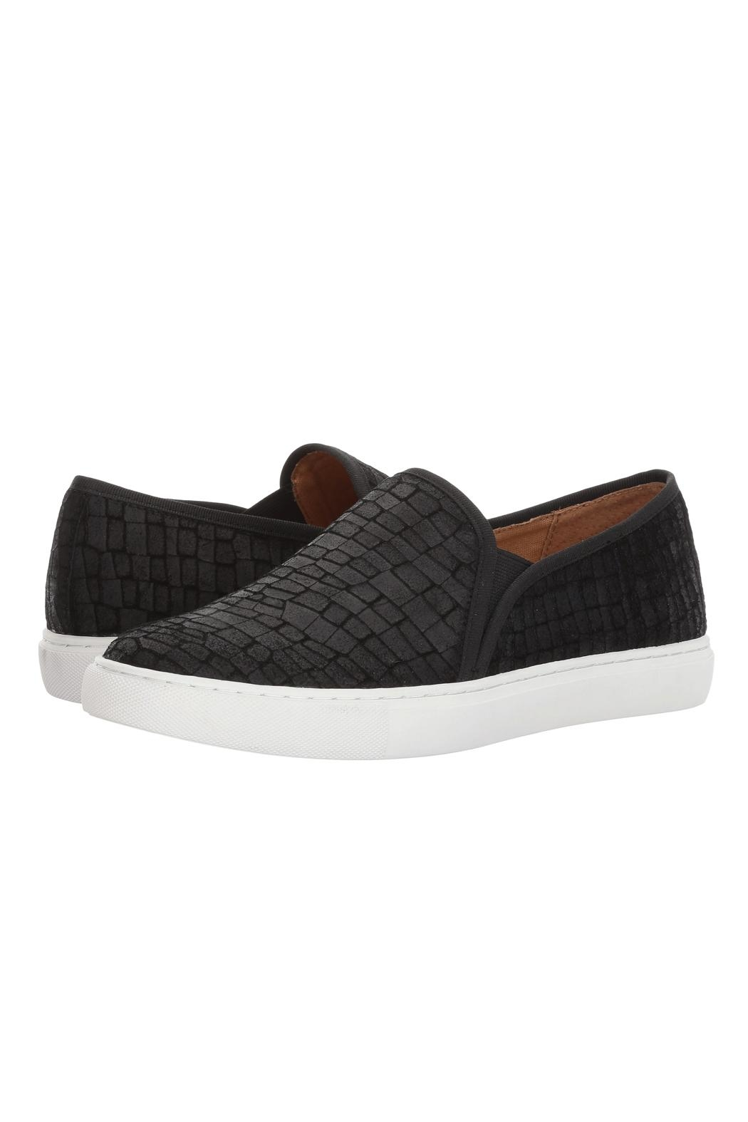 Corso Como Black Textured Slip On - Main Image