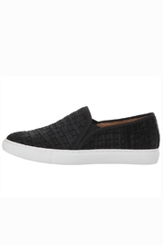 Corso Como Black Textured Slip On - Side cropped