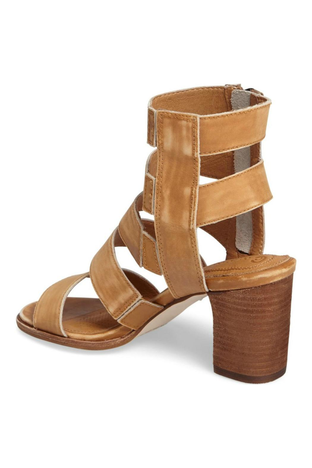 Corso Como Leather Caged Sandal - Front Full Image
