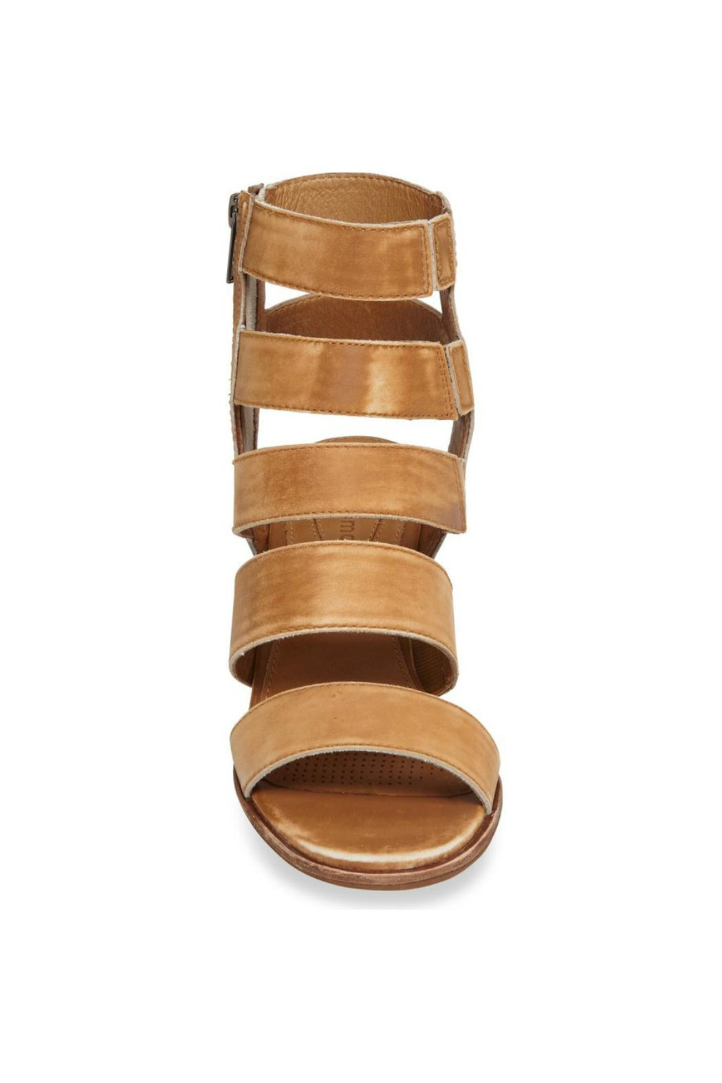 Corso Como Leather Caged Sandal - Side Cropped Image