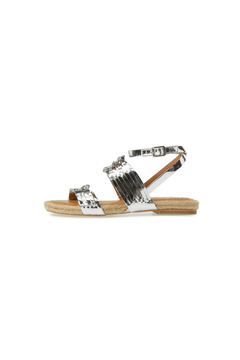 Shoptiques Product: Metallic Silver Sandal