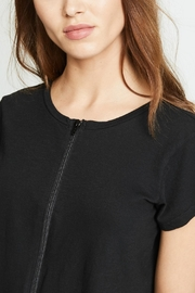 LNA Cort Zip-Up Tee - Front full body