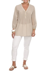 Cortland Park Collins Blouse - Front full body