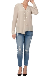 Cortland Park Love V Blouse - Product Mini Image