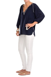Cortland Park Tassel Tunic Top - Product Mini Image