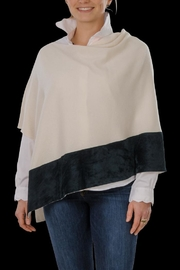 Cortland Park Cashmere Ali Cashmere Poncho - Front cropped