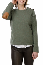 Cortland Park Cashmere Harvard Cashmere Sweater - Front cropped