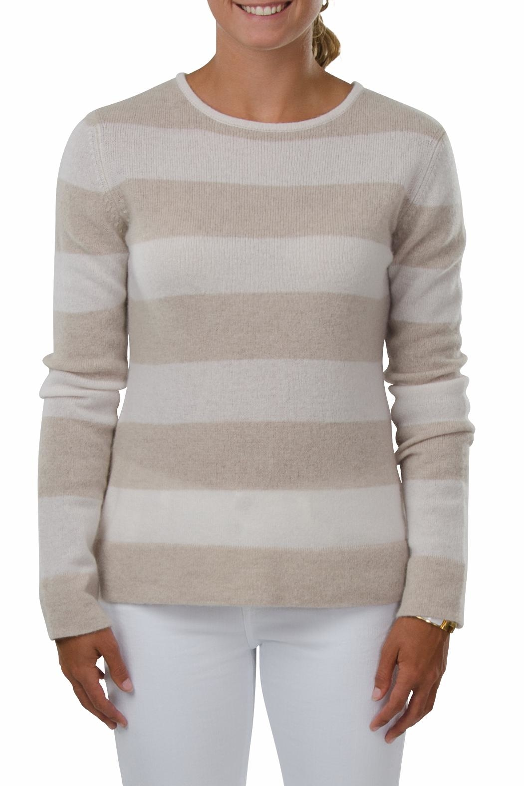 Cortland Park Cashmere Lindsey Cashmere Shirt - Front Cropped Image