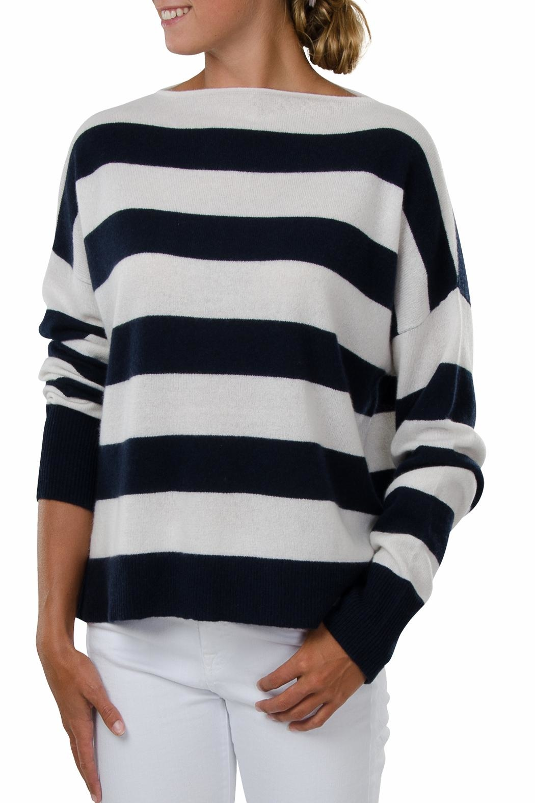 Cortland Park Cashmere Newport Cashmere Sweater - Front Cropped Image