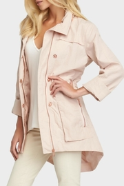 Tart Collections Cory Raincoat Jacket - Front full body