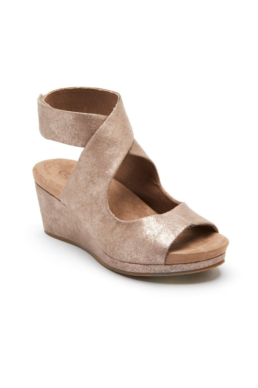 Coconuts by Matisse Coryn Metallic Wedge - Side Cropped Image