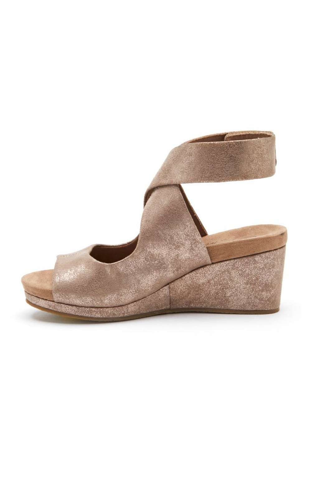 Coconuts by Matisse Coryn Metallic Wedge - Main Image