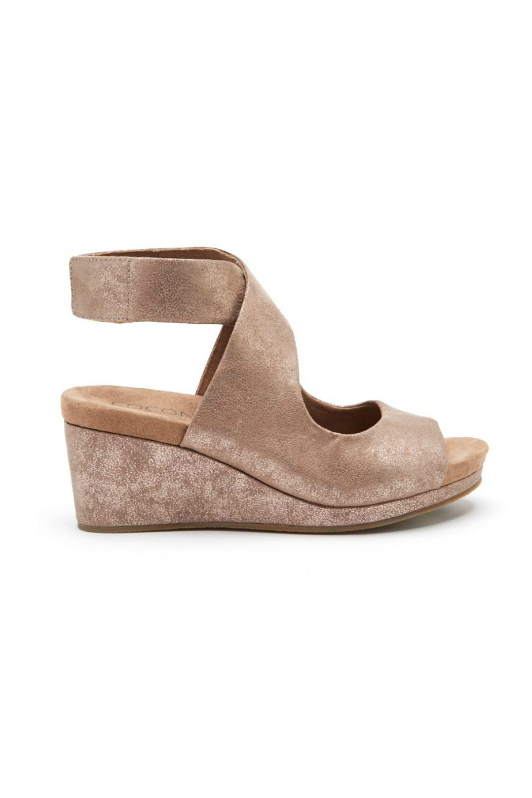 Coconuts by Matisse Coryn Metallic Wedge - Front Full Image