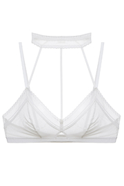 Cosabella bisou lace choker bralet - Front cropped
